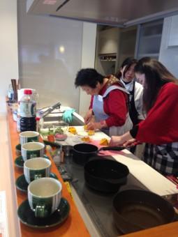 料理教室第4回目①