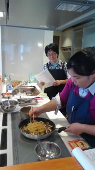 第一回料理教室風景③